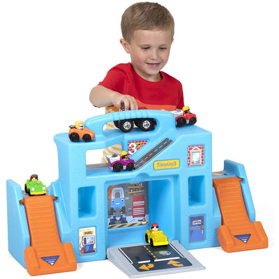Simplay3 - Carry & Go Durable Garage Portable Playset