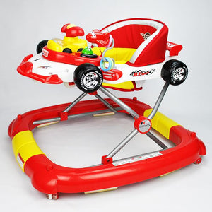 F1 Racing Car Baby Walker & Rocker
