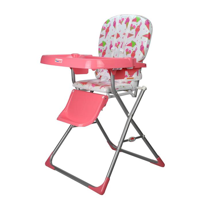 Baby Ace Toddler Kids High Chair - Pink - Grace Baby