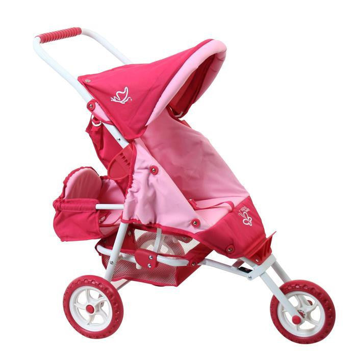 Valco Baby Mini Marathon Doll Stroller With Toddler Seat
