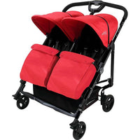 Baby Ace Libra Twin Stroller - Red