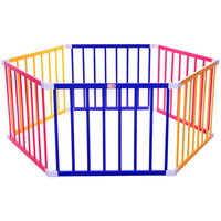 Tikk Tokk Little Boss Playpen Hexagonal - Coloured