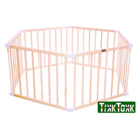 Tikk Tokk Little Boss Playpen Hexagonal - Natural - Grace Baby