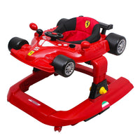 Ferrari Licensed 5-in-1 Deluxe Baby Walker Play Centre - Grace Baby