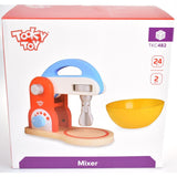 Tooky Toy - Wooden Pretend Play Mixer - Grace Baby