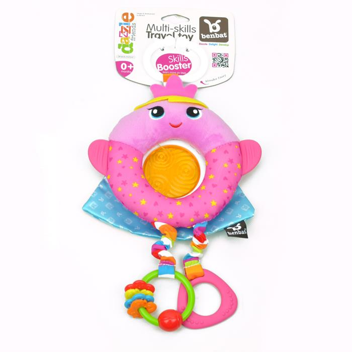 BenBat Dazzle Friends Clip On Travel Toy - Fairy - Grace Baby