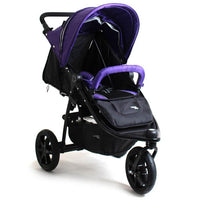 Valco Baby Tri Mode X 3 wheel Jogger Pram - Purple