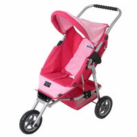 Valco Baby Mini Marathon Doll Stroller - Hot Pink - Grace Baby