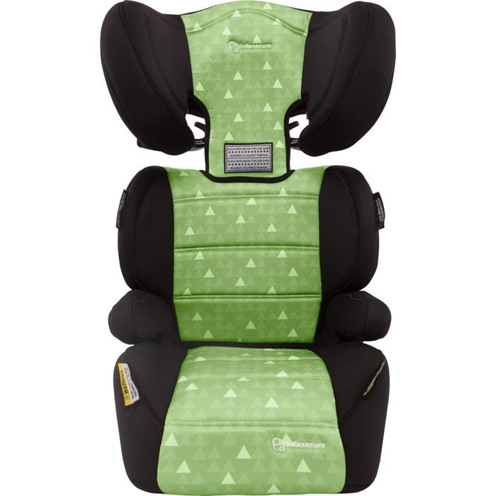 Infa Secure Vario Treo II Booster Seat - Green - Grace Baby