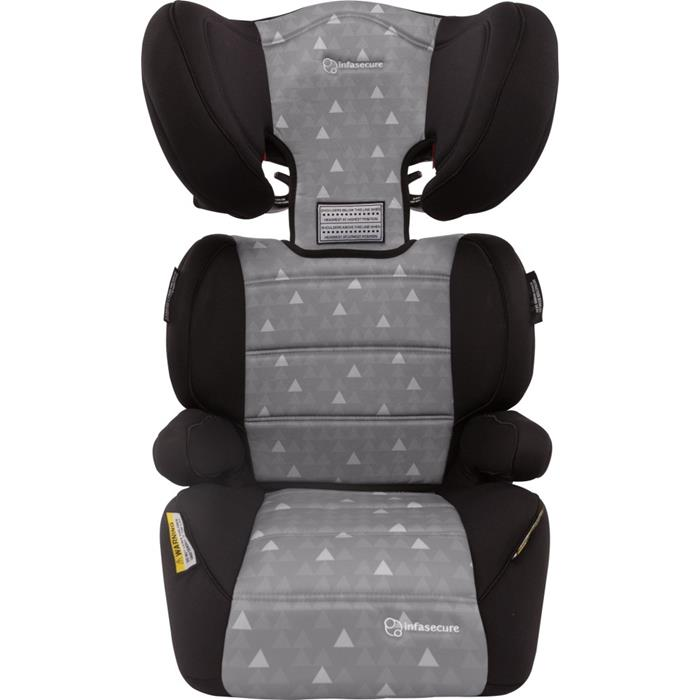 Infa Secure Vario Treo II Booster Seat - Grey - Grace Baby