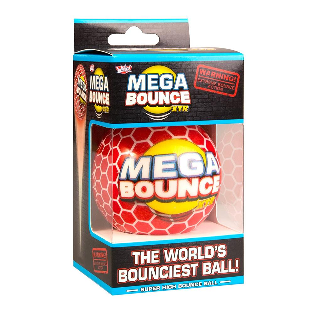 Wicked Mega Bounce XTR Bouncy Ball - Red - Grace Baby
