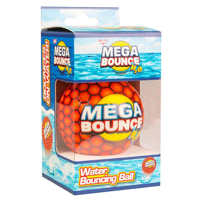 Wicked Mega Bounce H2O - Water Bouncing Ball - Orange