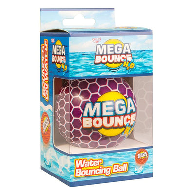 Wicked Mega Bounce H2O - Water Bouncing Ball - Purple