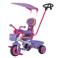 Eurotrike - Ultima Plus Auto Steer with Canopy - Pink
