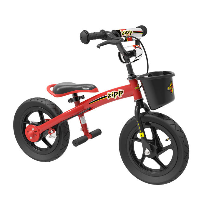 Eurotrike 2 in 1 Zipp Bike - Red - Grace Baby
