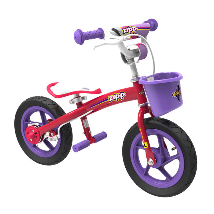Eurotrike 2 in 1 Zipp Bike - Pink - Grace Baby