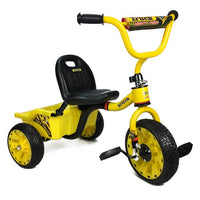 Mighty Truck Kids Ride On Pedal Tricycle with Tipper