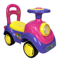 Elite Super Kids Ride-On Car - Purple