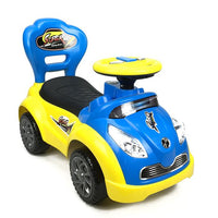 Kids Super Racing Ride On Toy Car - Blue