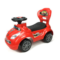 Kids Super Racing Ride On Toy Car - Red