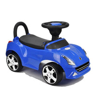 Kids Super Race Ride-on Car Toy - Blue