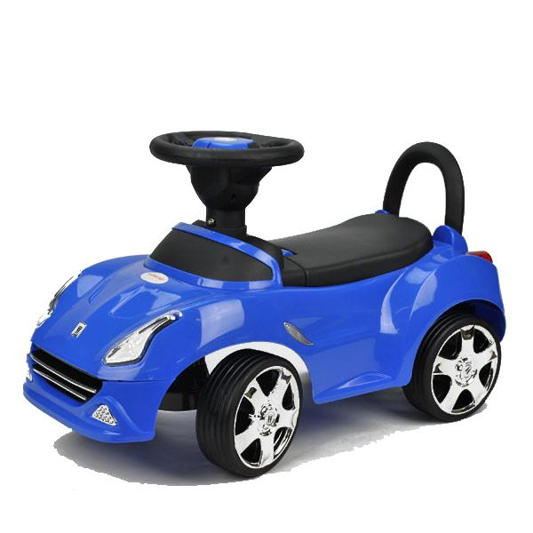 Kids Super Race Ride-on Car Toy - Blue - Grace Baby