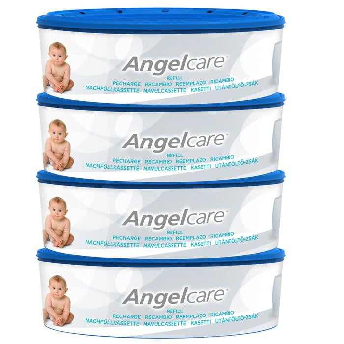 Angelcare Nappy Disposal Refill (Pack of 4)