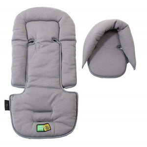 Vee Bee Allsorts Seatpad & Headhugger -Grey