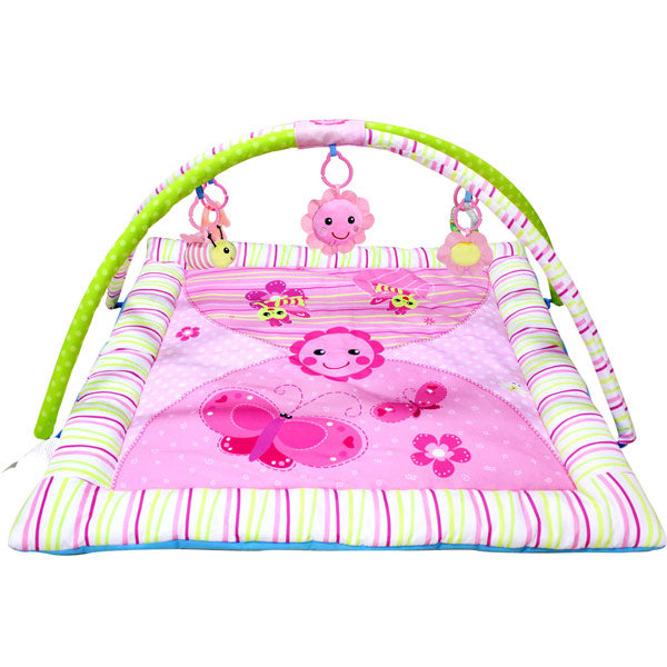 Dancing Flowers Musical Baby Playgym