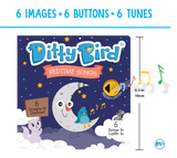 Ditty Bird Interactive Musical Book - Bedtime Songs