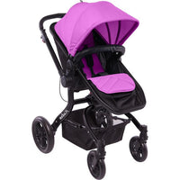 Infa Secure Arlo Stroller Black Frame - Purple
