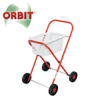 Orbit Metal Clothes Trolley & Basket - Grace Baby