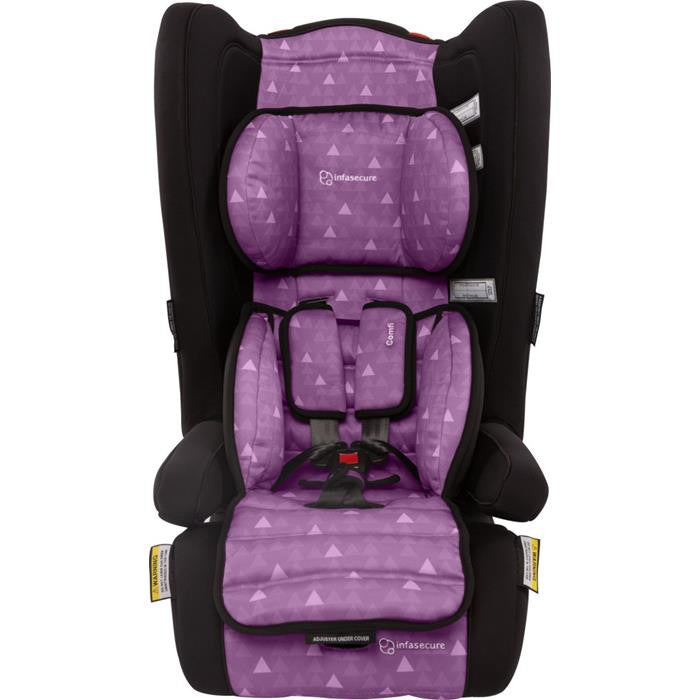Infa Secure Comfi Treo Convertible Booster Seat - Purple - Grace Baby