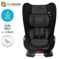 Infa Secure Kompressor 4 Treo Convertible Isofix Car Seat - Ebony