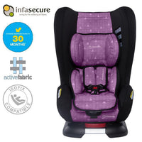 Infa Secure Kompressor 4 Treo Convertible Isofix Car Seat - Purple - Grace Baby