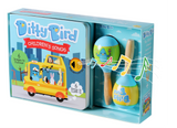 Ditty Bird Interactive Musical Book Gift Set - Children's Songs - Grace Baby