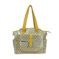 Bellotte Tote Nappy Bag - Autumn Yellow