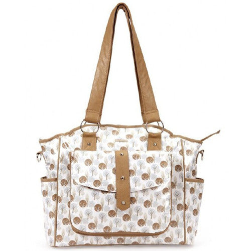 Bellotte Tote Nappy Bag - Autumn Tree - Grace Baby