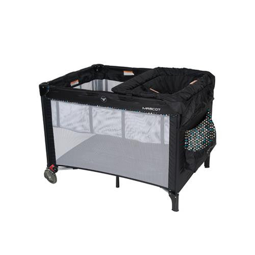 Baby Love Mascot Black Spots 3 in 1 Portable Cot - Grace Baby