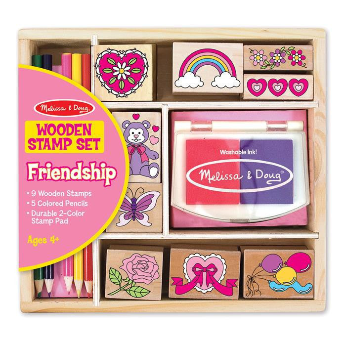 Melissa & Doug - Friendship Stamp Set - Grace Baby