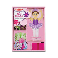 Melissa & Doug Nina Ballerina Magnetic Dress-Up Playset - Grace Baby