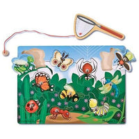 Melissa & Doug - Magnetic Bug Butterfly Catching Game - Grace Baby