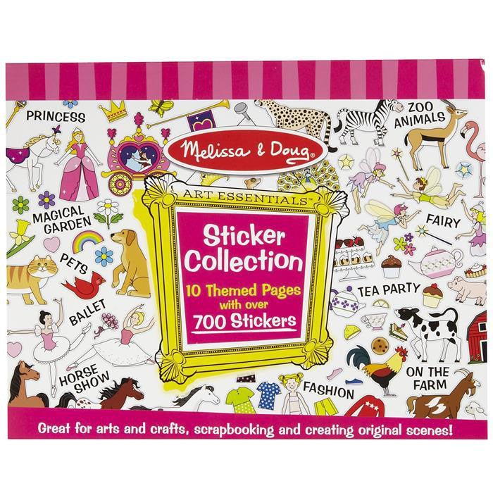 Melissa & Doug - Sticker Collection - Pink - Grace Baby