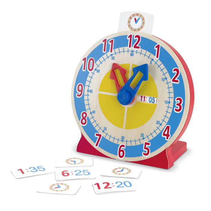 Melissa & Doug Classic Toy - Classic Toy - Turn & Tell Clock - Grace Baby