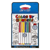 Melissa & Doug - On The Go - Color by Numbers Book - Blue - Grace Baby