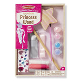 Melissa & Doug Decorate-Your-Own - Wooden Princess Wand