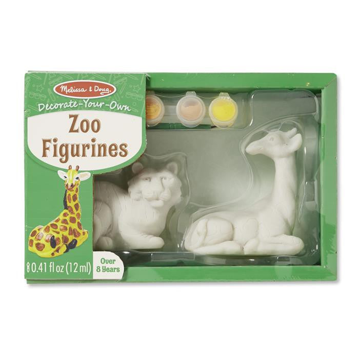 Melissa & Doug - Decorate-Your-Own - Zoo Figurines