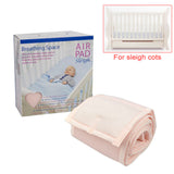 Sweet Dreams Air Pad - Sleigh Cot - Pink - Grace Baby