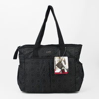 Bellotte Amber Carry All Nappy Bag - Black - Grace Baby
