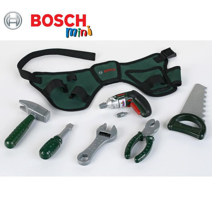Bosch Mini Replica Tool Belt with Ixolino Screwdriver - Grace Baby
